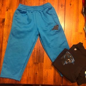 Carolina Panthers Toddler Outfit